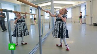 Петербургские благотворители провели урок доброты в балетном классе