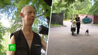 ВПетербурге инвалида лишили гаража для старенького скутера