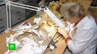 Кто и как сохраняет рамы живописных шедевров в Русском музее
