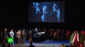 Николая Губенко проводили впоследний путь аплодисментами