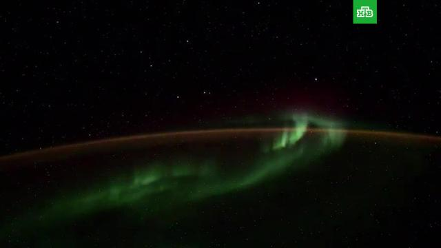 Космонавт снял НЛО с борта МКС.МКС, НЛО и инопланетяне, космонавтика, космос.НТВ.Ru: новости, видео, программы телеканала НТВ