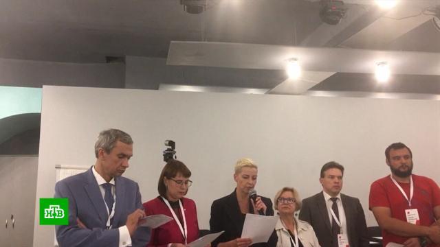 Белорусская оппозиция запросила срочных встреч ссиловиками.Белоруссия, Лукашенко, выборы, митинги и протесты, оппозиция.НТВ.Ru: новости, видео, программы телеканала НТВ