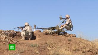 Российские военные провели патрулирование спорной территории между Сирией иИзраилем