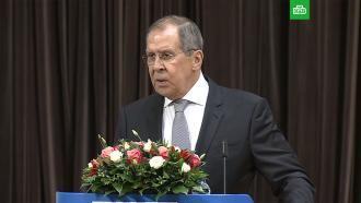 Лавров ответил на требования Запада расследовать ситуацию сНавальным