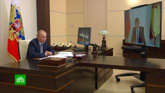 Врио главы Чувашии обсудил сПутиным уровень безработицы врегионе