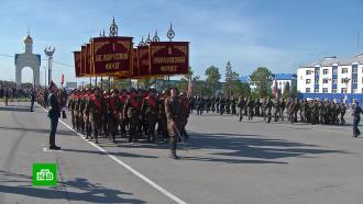 На Дальнем Востоке <nobr>75-летие</nobr> окончания Второй мировой войны отметили парадами