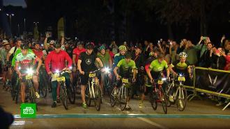Более трех тысяч велогонщиков в Москве почувствовали себя участниками «Тур де Франс»