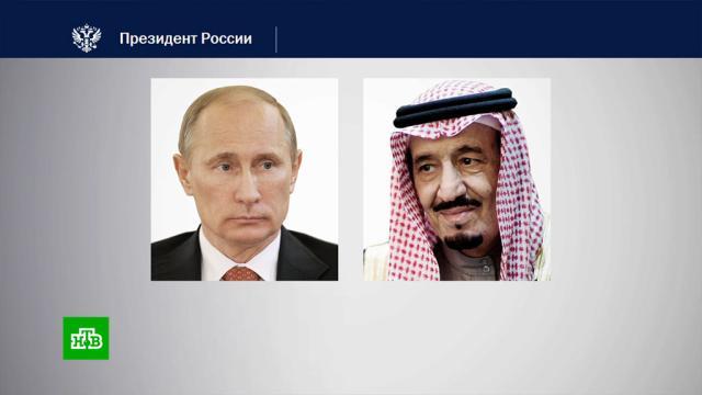 Владимир Путин обсудил совместное производство российской вакцины от коронавируса скоролем Саудовской Аравии.коронавирус, медицина, Путин, Саудовская Аравия.НТВ.Ru: новости, видео, программы телеканала НТВ
