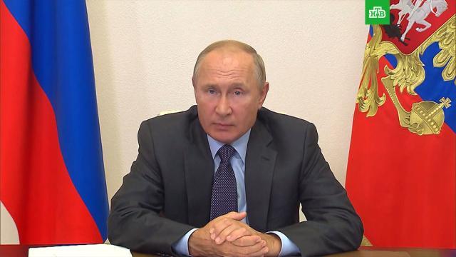 Путин: адресная поддержка безработных должна продолжаться.безработица, коронавирус, льготы, Путин, работа.НТВ.Ru: новости, видео, программы телеканала НТВ