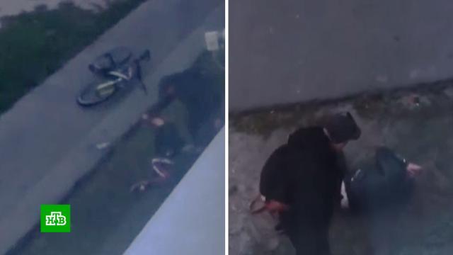 Мужчина жестоко избил возлюбленную впоселке под Брянском.Брянская область, драки и избиения, жестокость, нападения.НТВ.Ru: новости, видео, программы телеканала НТВ