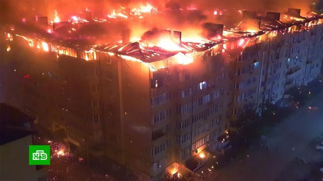 После пожара оставшихся без жилья краснодарцев разместят вгостинице «Кавказ».Краснодар, пожары, эвакуация.НТВ.Ru: новости, видео, программы телеканала НТВ