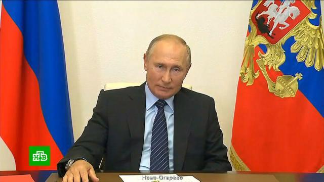 Путин: Россия эффективно противостоит коронавирусу.Путин, коронавирус, медицина.НТВ.Ru: новости, видео, программы телеканала НТВ