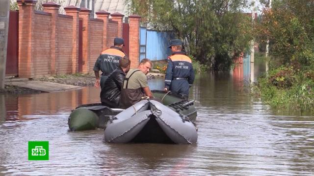Уровень воды в Амуре продолжает стремительно расти.Хабаровский край, наводнения.НТВ.Ru: новости, видео, программы телеканала НТВ