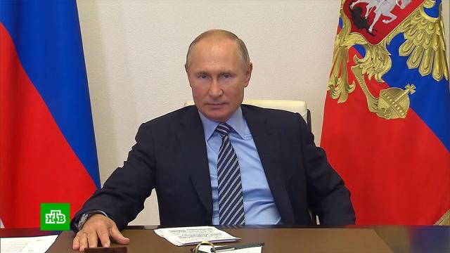 Путин: вРоссии производят уникальные образцы вооружения.Путин, армия и флот РФ, вооружение, технологии.НТВ.Ru: новости, видео, программы телеканала НТВ