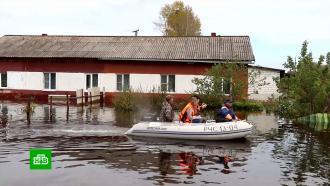 Вышедшие из берегов реки затопили шесть российских регионов