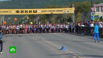 День бега: врегионах России проходит «Кросс нации»