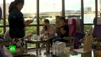 ВТаиланде впростаивающих <nobr>из-за</nobr> <nobr>COVID-19</nobr> самолетах открывают рестораны