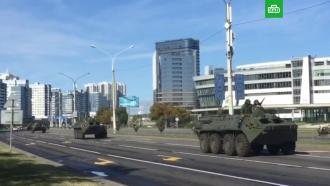 Крезиденции Лукашенко отправили бронетранспортеры