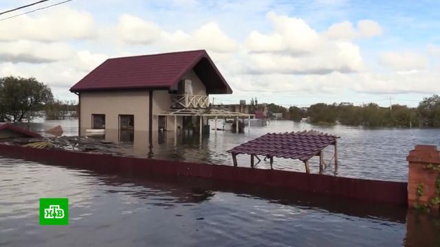 ВХабаровском крае из зоны паводка эвакуируют людей.Еврейская АО, Хабаровский край, наводнения, стихийные бедствия.НТВ.Ru: новости, видео, программы телеканала НТВ
