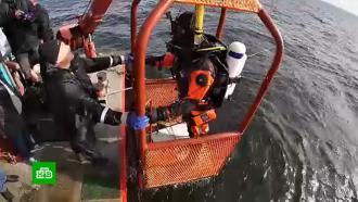 Репортеры НТВ побывали на месте крушения знаменитого корабля «Архангел Рафаил»