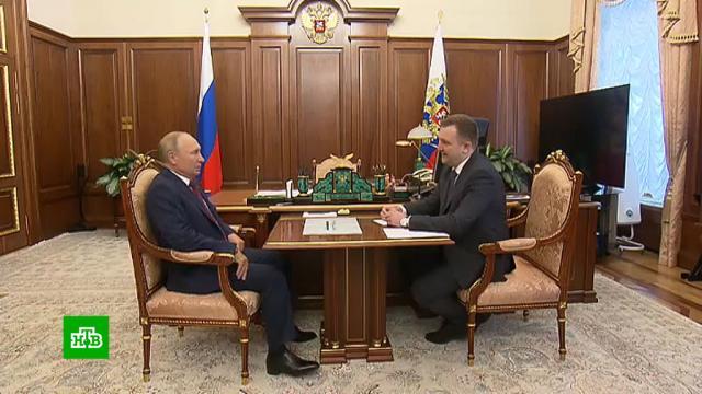 Путин высоко оценил работу молодежного волонтерского движения.Путин, волонтеры.НТВ.Ru: новости, видео, программы телеканала НТВ
