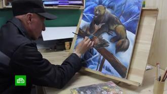 ФСИН открыла первую выставку картин заключенных