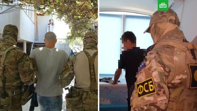 В Крыму задержаны двое подозреваемых в призывах к экстремизму.Крым, ФСБ, задержание, терроризм, экстремизм.НТВ.Ru: новости, видео, программы телеканала НТВ