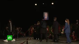 Телеведущего Борисова похоронили на Востряковском кладбище