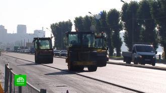 Масштабный ремонт Октябрьской набережной Петербурга завершится 14 октября