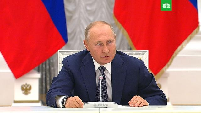 «Хамство»: Путин о прекращении зарубежных поставок композитов для МС-21.Путин, самолеты, авиация.НТВ.Ru: новости, видео, программы телеканала НТВ
