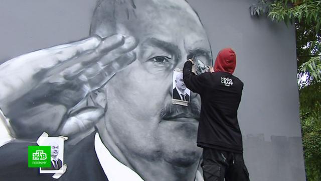 Уличные рисунки в Петербурге запретили закрашивать до 1 февраля.Санкт-Петербург, граффити.НТВ.Ru: новости, видео, программы телеканала НТВ
