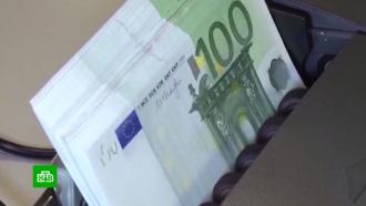 Курс евро поднялся выше 91рубля впервые сфевраля 2016года