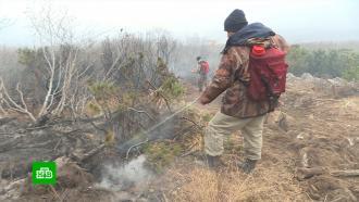 На Колыме люди задыхаются от дыма лесных пожаров