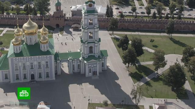 ВТуле отмечают 500-летие городского Кремля.Тула, торжества и праздники, памятники, история.НТВ.Ru: новости, видео, программы телеканала НТВ