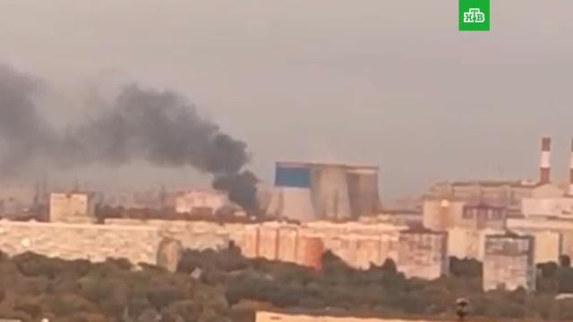 Мощный взрыв на заводе вЛюберцах.НТВ.Ru: новости, видео, программы телеканала НТВ