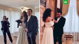 Илья Яшин женился на певице