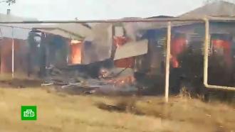 ВВоронежской области лесные пожары подбираются ксадовым товариществам