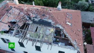 Обрушившийся на Италию ураган обесточил дома исорвал крыши сдомов