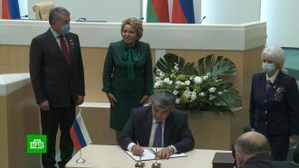 Россия иБелоруссия подписали контракты на 700млн долларов
