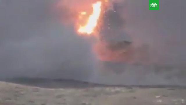 Армения иАзербайджан опубликовали очередные видео боев вНагорном Карабахе.Азербайджан, Армения, Нагорный Карабах, войны и вооруженные конфликты, территориальные споры.НТВ.Ru: новости, видео, программы телеканала НТВ