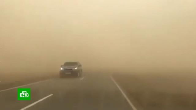 Пыльная буря обрушилась на Ставрополье.Ставропольский край, погода.НТВ.Ru: новости, видео, программы телеканала НТВ