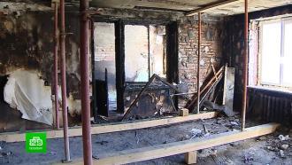 Жилищные службы забыли про взорванный газом дом на юге Петербурга