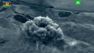 Азербайджан опубликовал новое видео с уничтожением армянской техники
