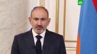 Пашинян заявил обеспрецедентной войне вКарабахе