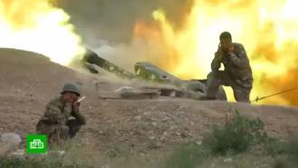Обстрелы ибои вНагорном Карабахе: версии Армении иАзербайджана
