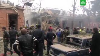 Азербайджан иАрмения публикуют видео разрушений после обстрелов