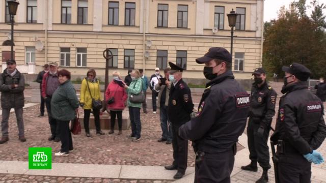 Выборжане устроили «протестную» экскурсию с требованием отставки чиновников.Ленинградская область, коррупция, митинги и протесты, хищения.НТВ.Ru: новости, видео, программы телеканала НТВ