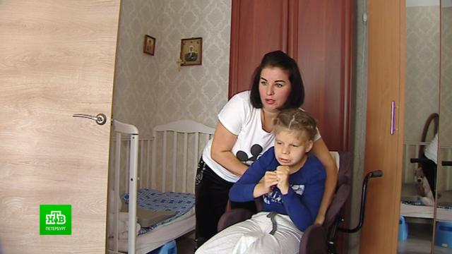 Петербургская семья с девочкой-инвалидом не может добиться от чиновников просторной квартиры.Санкт-Петербург, жилье, инвалиды.НТВ.Ru: новости, видео, программы телеканала НТВ