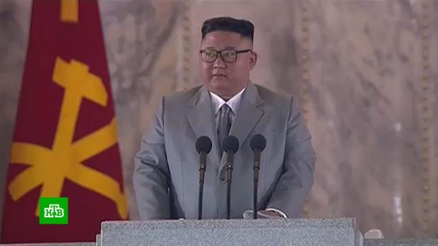 Ким Чен Ын поблагодарил народ за «отсутствие коронавируса в КНДР».Ким Чен Ын, Северная Корея, коронавирус, парады, торжества и праздники.НТВ.Ru: новости, видео, программы телеканала НТВ