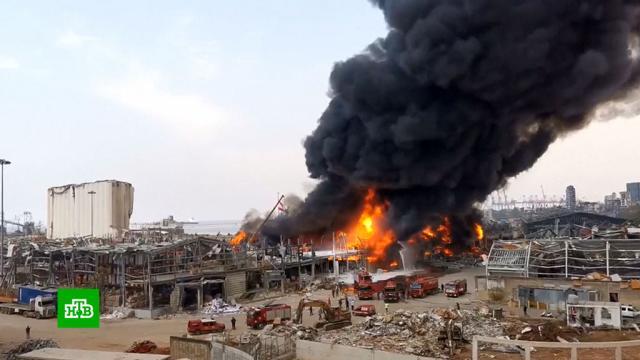 Годовалая девочка выжила под завалами после взрыва вБейруте.Ливан, взрывы, пожары.НТВ.Ru: новости, видео, программы телеканала НТВ